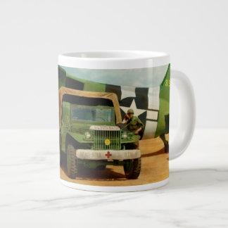 Doctor - 1942 - Delivering blood Giant Coffee Mug