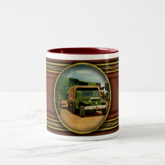 Doctor - 1942 - Delivering blood Two-Tone Coffee Mug