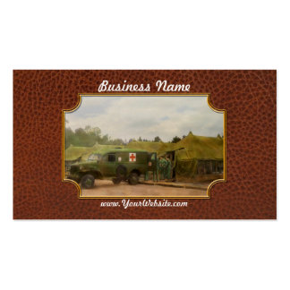 Doctor - 1942 - Transferring the patient Double-Sided Standard Business Cards (Pack Of 100)