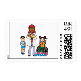 Doctor 2 postage stamp