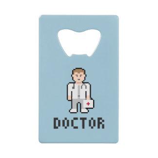 Doctor abrebotellas del arte del pixel