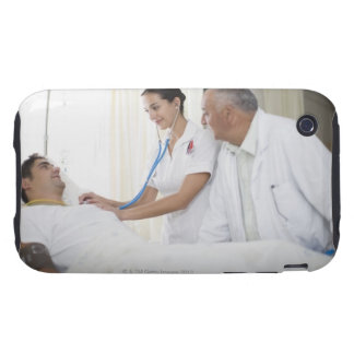 Doctor and nurse tending to patient tough iPhone 3 cases