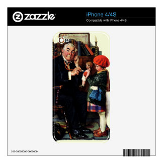 Doctor and the Doll iPhone 4 Skins