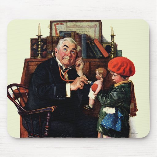 Doctor and the Doll Mousepad