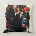 Doctor and the Doll Throw Pillow