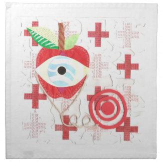 Doctor Apple Cloth Napkins