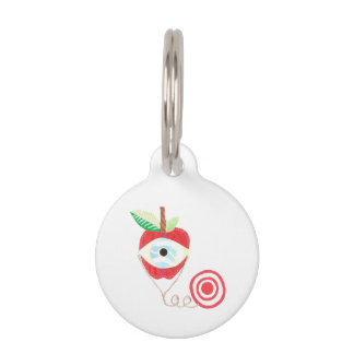 Doctor Apple Pet Tag
