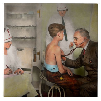 Doctor - At the pediatricians office 1925 Ceramic Tile