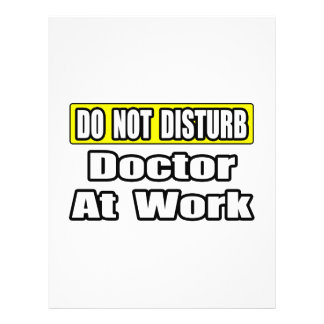 Doctor At Work Custom Flyer