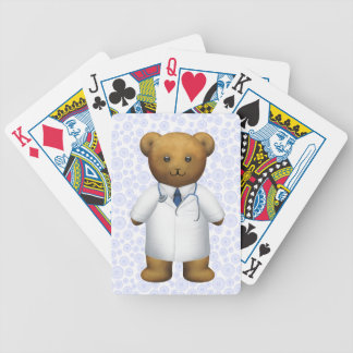Doctor Bear - Teddy Bear Bicycle Playing Cards
