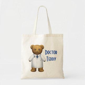 Doctor Bear - Teddy Bear Tote Bag