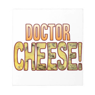 Doctor Blue Cheese Notepad