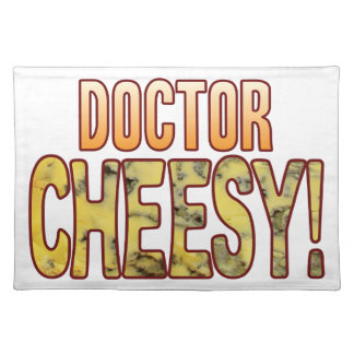 Doctor Blue Cheesy Cloth Placemat