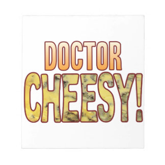 Doctor Blue Cheesy Notepad