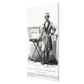 Doctor Bokanky, the street herbalist Canvas Print