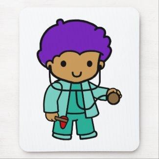 Doctor Boy mousepad