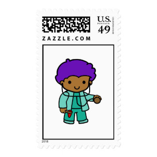 Doctor Boy Stamps