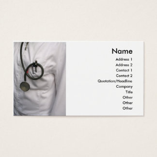 Doctor Bueiness Card