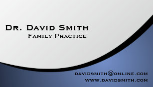 Practice Family Business Cards Templates