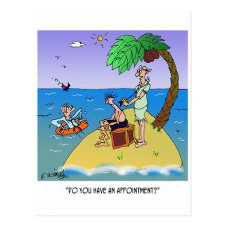 Doctor Cartoon 9491 Postcard
