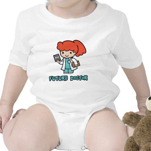 Doctor (chica) traje de bebé