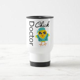 Doctor Chick 15 Oz Stainless Steel Travel Mug