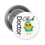 Doctor Chick Pins