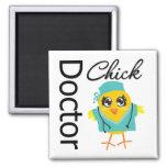 Doctor Chick Refrigerator Magnet