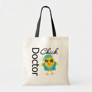 Doctor Chick Tote Bag