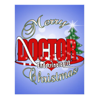 DOCTOR CHRISTMAS Endocrinologist Letterhead