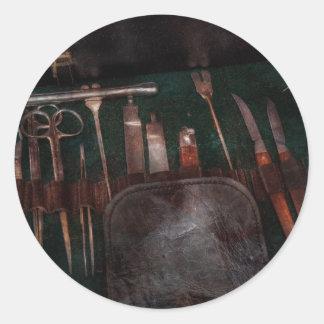 Doctor - Civil war instruments Classic Round Sticker