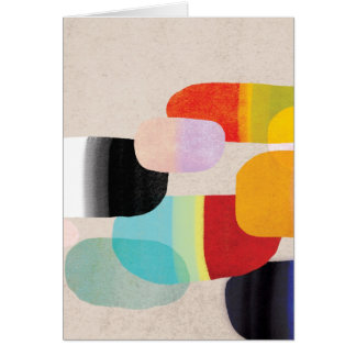 DOCTOR COLORFUL PILLS GREETING CARD