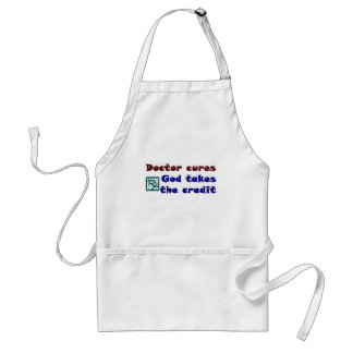 Doctor cures adult apron