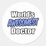 Doctor de Awesomest del mundo Etiquetas