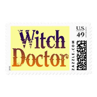 Doctor de bruja estampillas