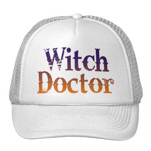 Doctor de bruja gorras