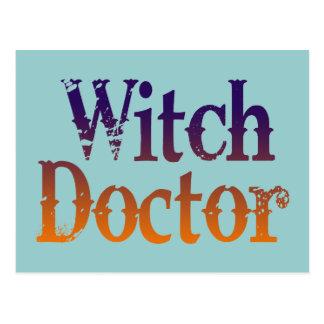 Doctor de bruja postales