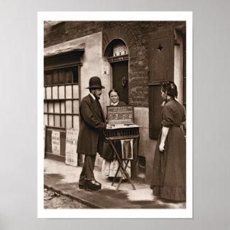 Doctor de la calle, 1876-77 (woodburytype) posters