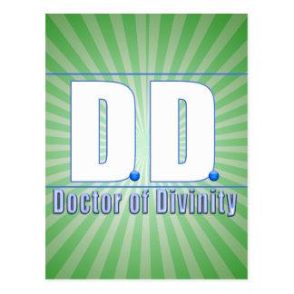 Doctor de la DD del LOGOTIPO de las siglas de la Postal