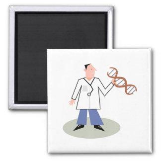 Doctor de la DNA Imán Cuadrado