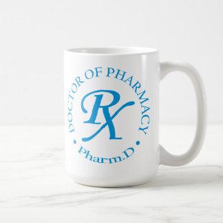 Doctor de la farmacia taza clásica