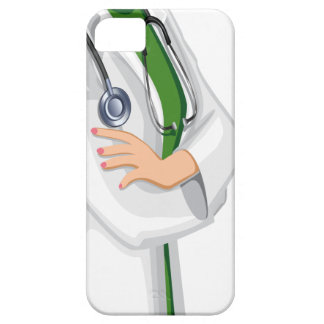 Doctor de la hembra de la medicina iPhone 5 Case-Mate funda