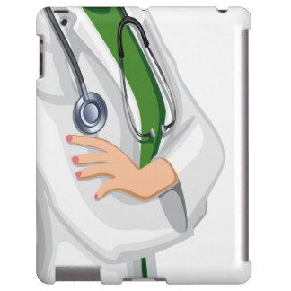 Doctor de la hembra de la medicina funda para iPad
