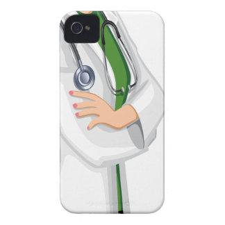 Doctor de la hembra de la medicina iPhone 4 cobertura