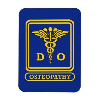 Doctor de la medicina osteopática rectangle magnet