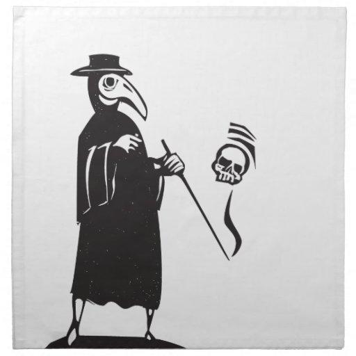 Doctor de la plaga servilleta de papel