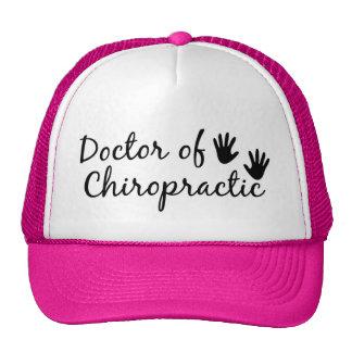 Doctor de la quiropráctica gorras