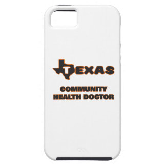 Doctor de la salud de la comunidad de Tejas Funda Para iPhone 5 Tough