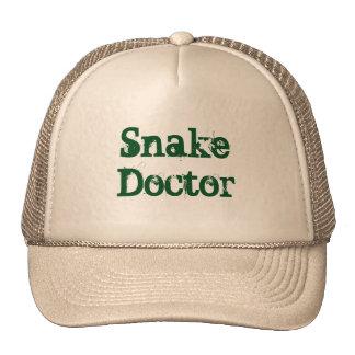 Doctor de serpiente gorras