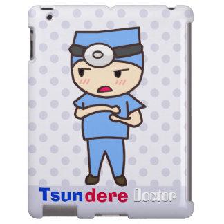 Doctor de Tsundere Funda Para iPad